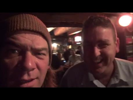 me and Alan Doyle